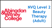 Form 005 - NVQ Level 2 Beauty (Adult)