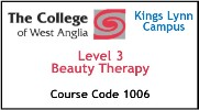 Form 016 / 17 - Level 3 Beauty Therapy (Course Code 1006)