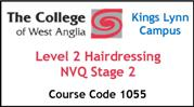 Form 004 - Level 2 Hairdressing NVQ Stage 2 (Course Code 1055)