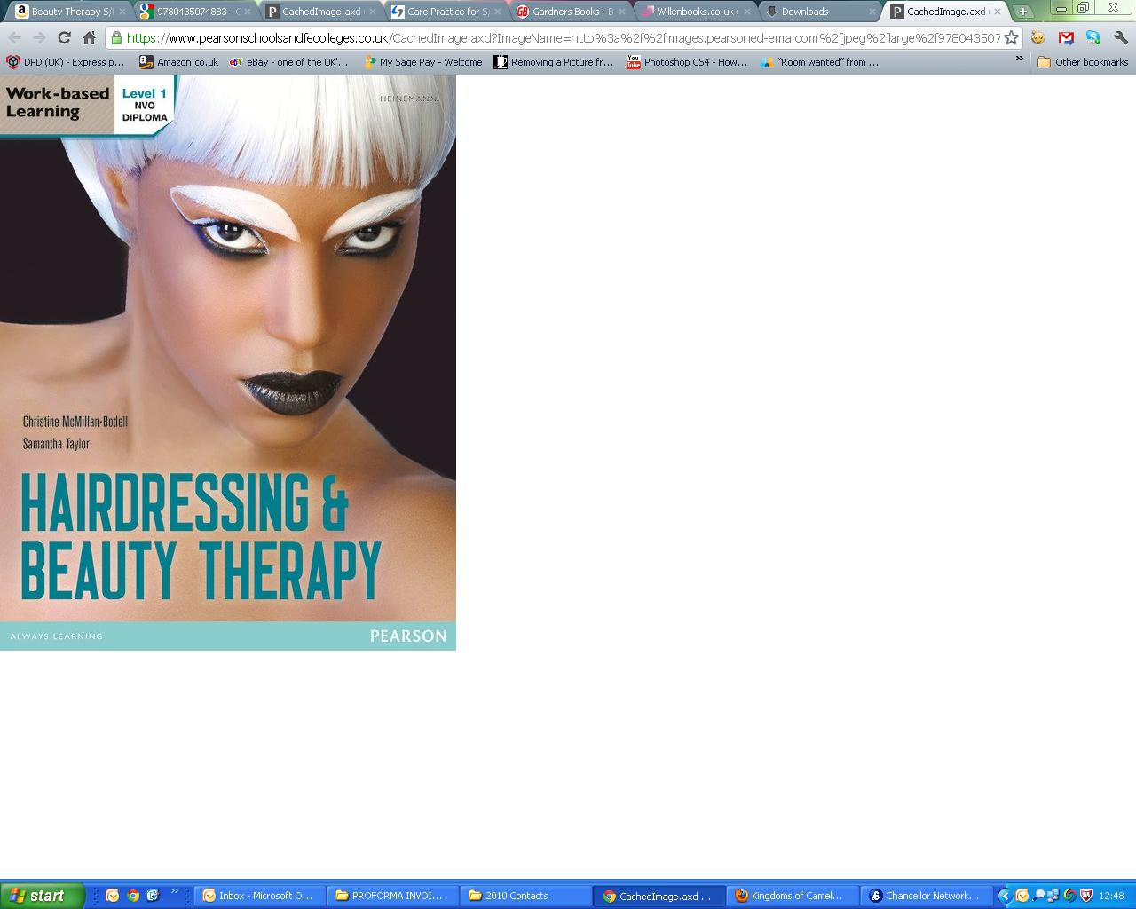 Level 1 NVQ Diploma Hairdressing and Beauty Therapy by Taylor, McMillan Bodell