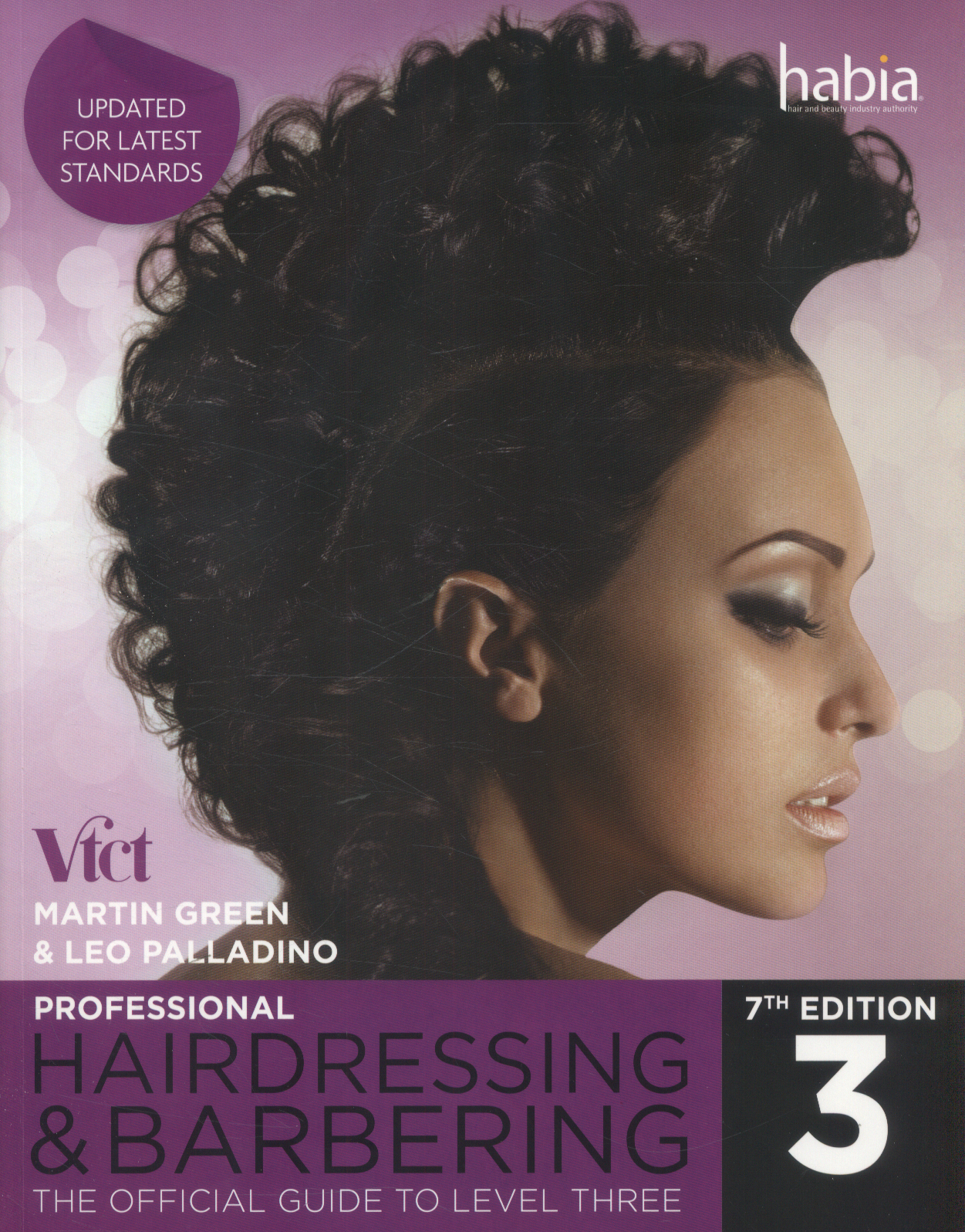 Professional Hairdressing & Barbering Level 3 7th edition by Leo Palladino & Martin Green